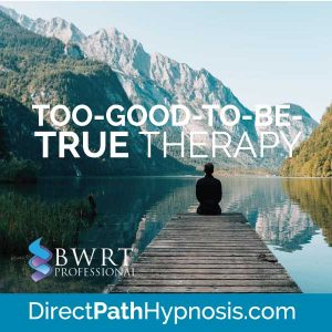 Too-Good-to-be-True Therapy BWRT Brainworking Recursive Therapy